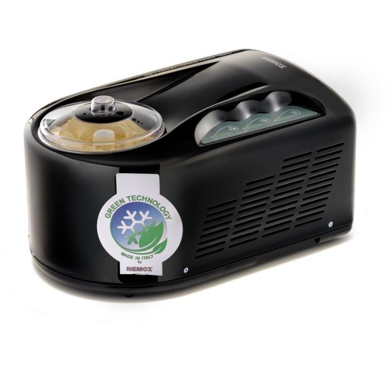 Автоматическая мороженица Nemox I-Green Gelato Pro 1700 UP Black черная 1,7 л