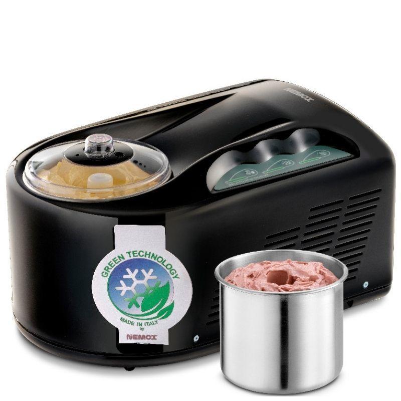 Мороженица Nemox I-Green Gelato Pro 1700 UP Black черная 1,7 л (автоматическая)