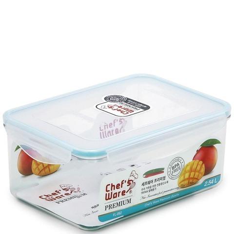 Тритановый контейнер Chef's Ware с замками BPA FREE