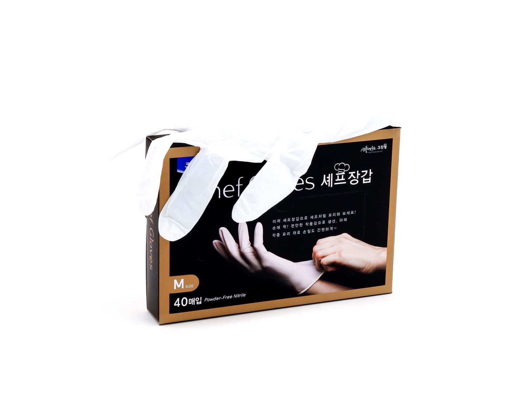 Перчатки Chef Gloves Clean Wrap гипоаллергенные (размер M)