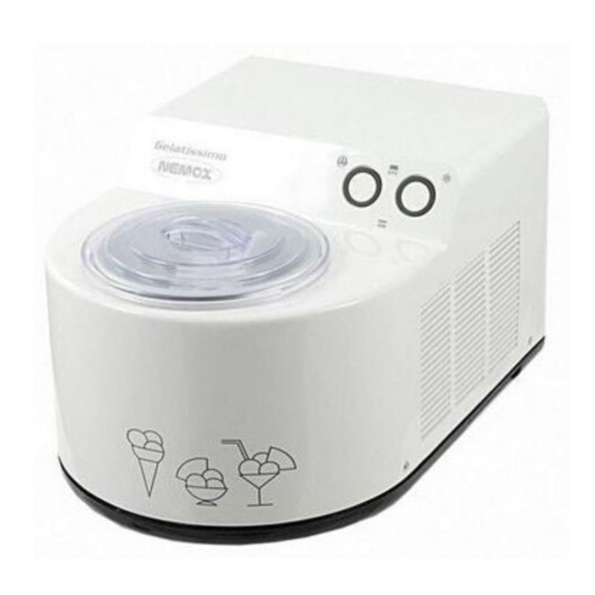 Мороженица Nemox Gelatissimo Classic белая 1,7 л (автоматическая)