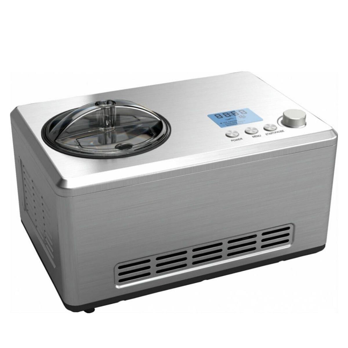 Автоматическая мороженица Gastrorag ICM-2031 (2 литра) серебристая
