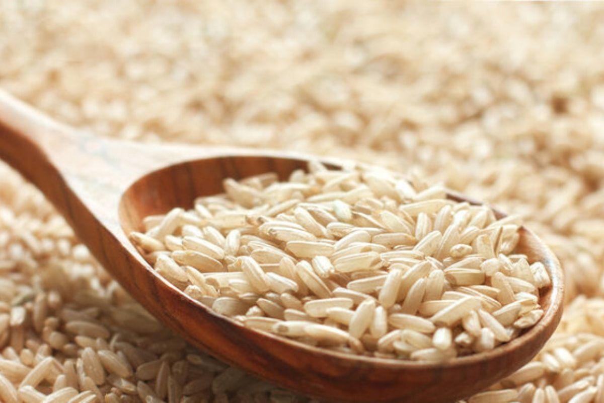 Рис нешлифованный