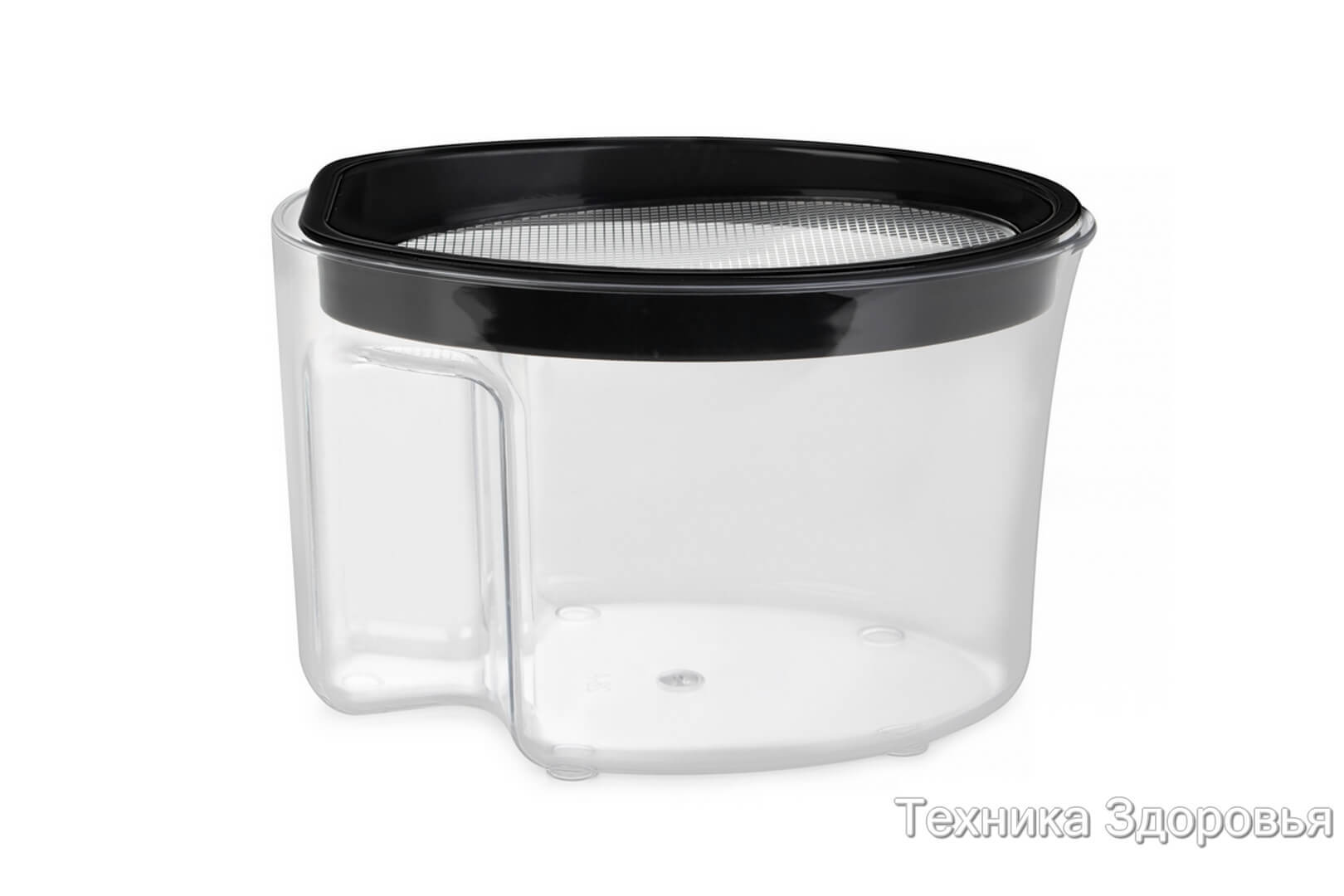 Контейнер для сока с фильтрующей сеткой