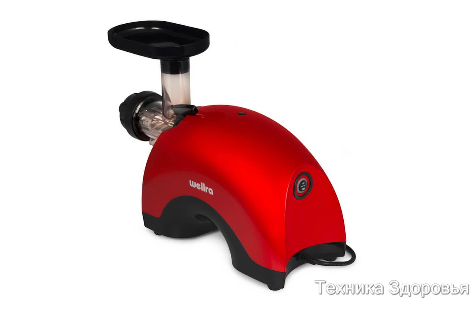 Соковыжималка Wellra TGJ50S красная