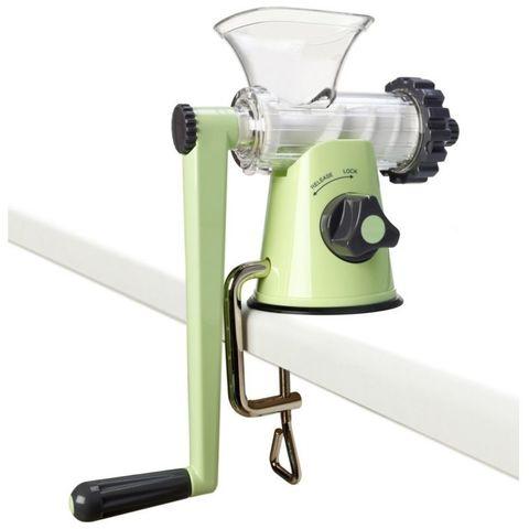 Шнековая соковыжималка Lexen Healthy Juicer Manual GP27 зеленая (ручная)