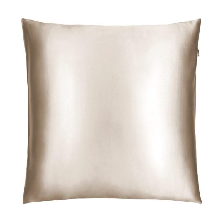 Шелковая наволочка Silk Silk карамель 70х70 см