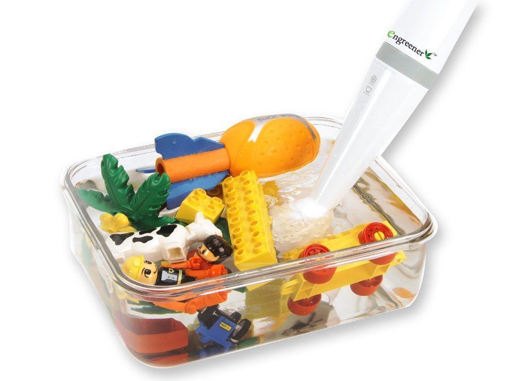 Стерилизация игрушек с помощью озонатора-стерилизатора Engreener