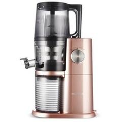Шнековая соковыжималка Hurom Premium H-AI LBE20, розово-золотистая