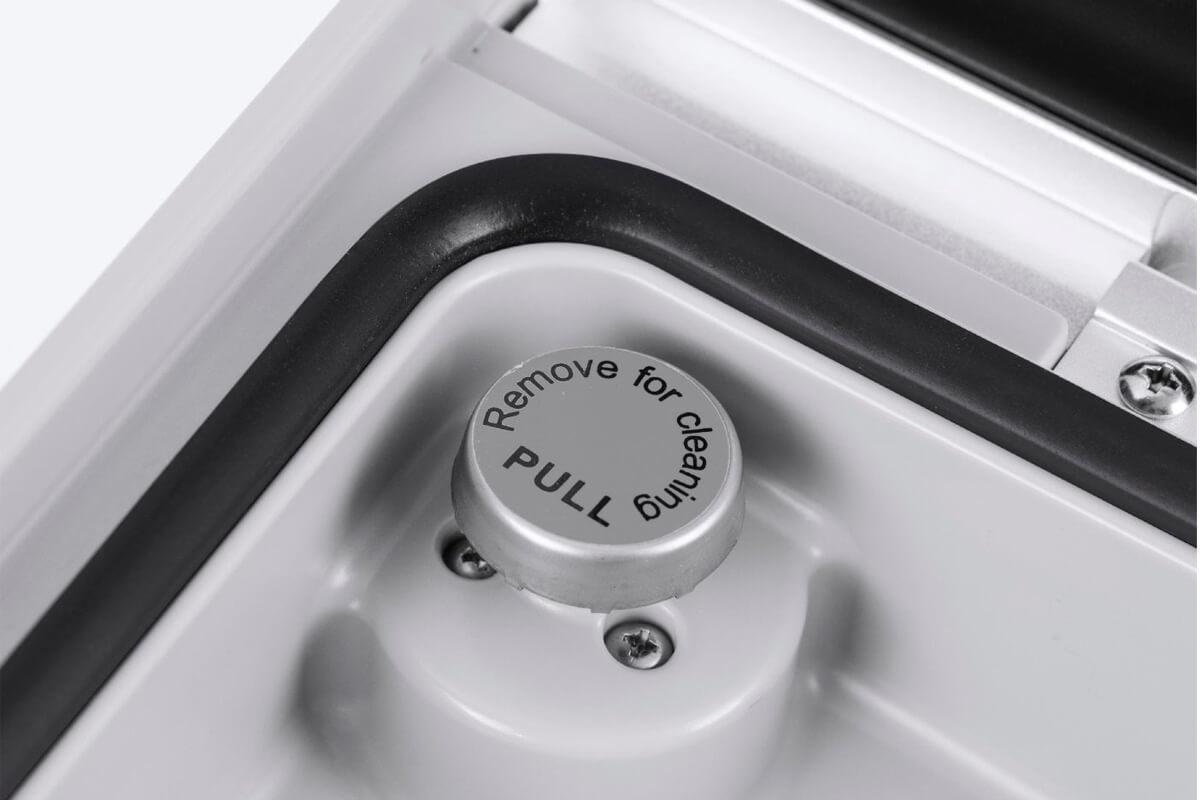 Скорость откачки воздуха - 70 л/мин