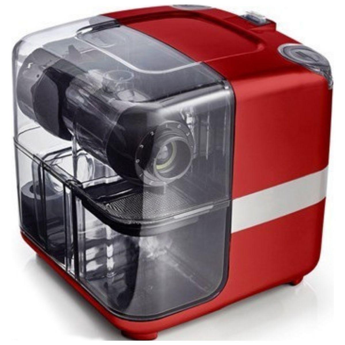 Шнековая соковыжималка Omega Cube 302R красная