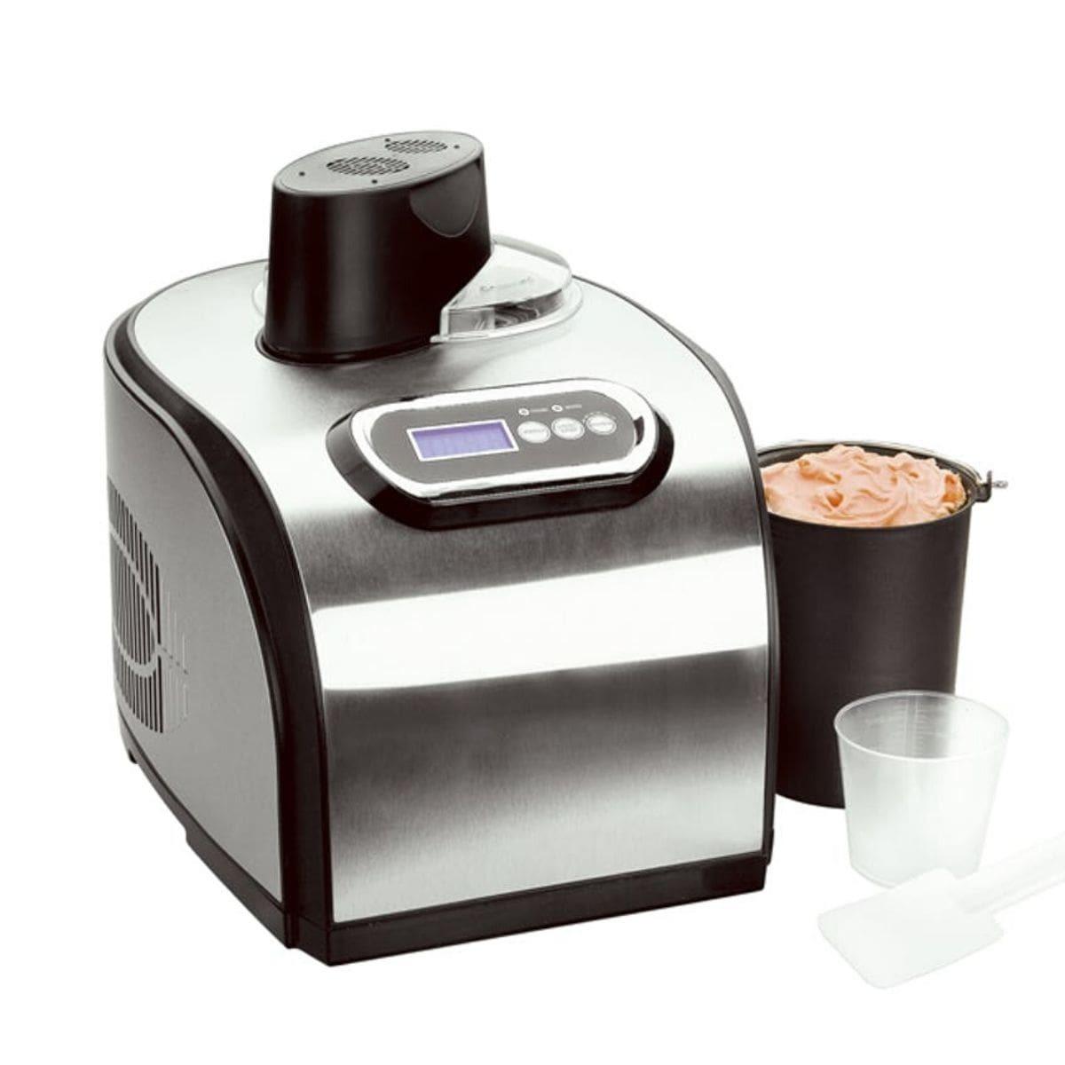 Мороженица Gastrorag ICM-1518 серебристая 1,5 л (автоматическая)