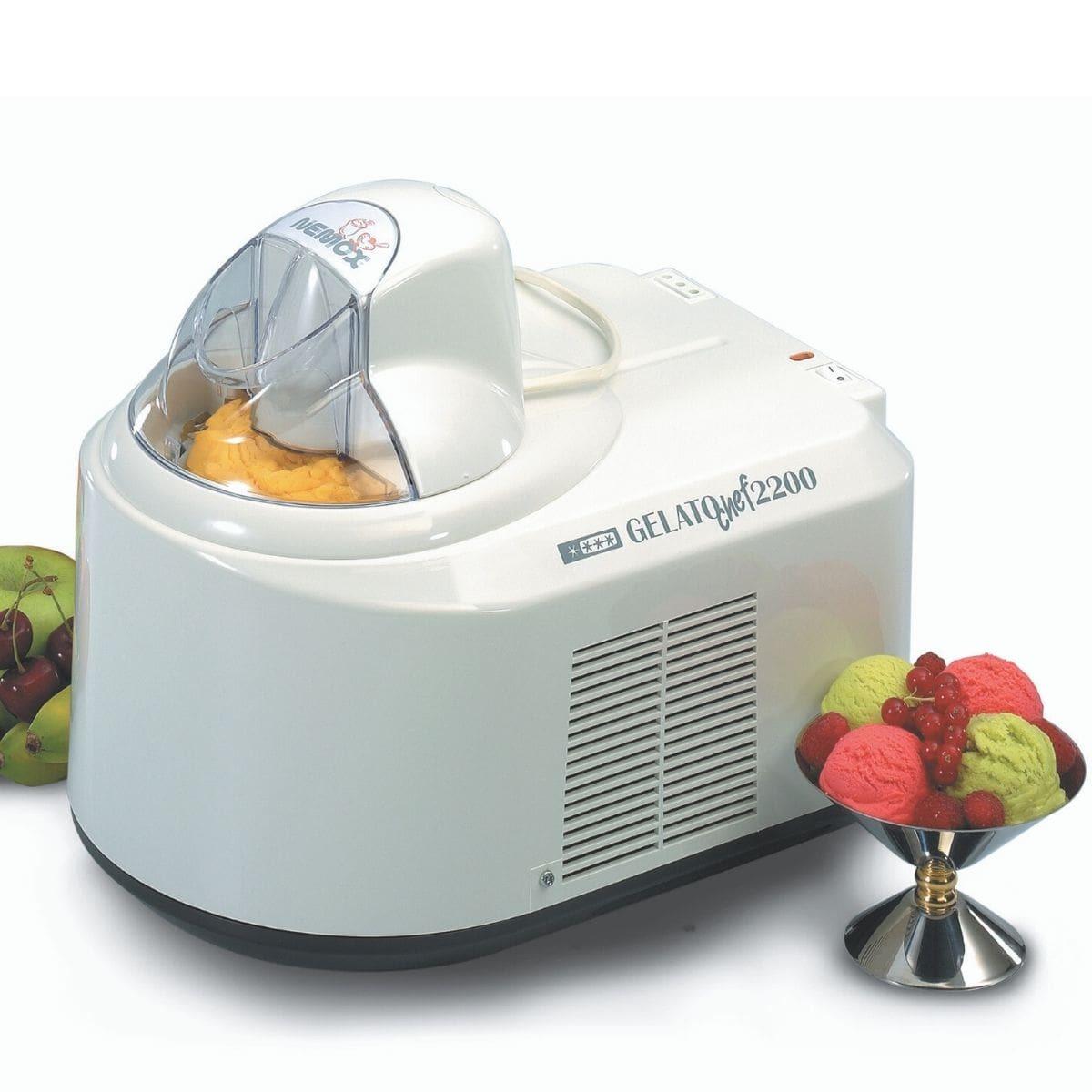 Мороженица Nemox Gelato Chef 2200 White белая 1,5 л (автоматическая)