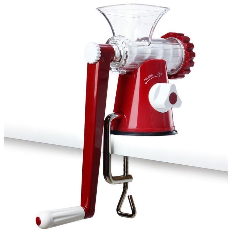 Шнековая соковыжималка Lexen Healthy Juicer Manual GP27 красная (ручная)