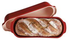 Форма для выпечки итальянского хлеба Emile Henry 345503 гранат