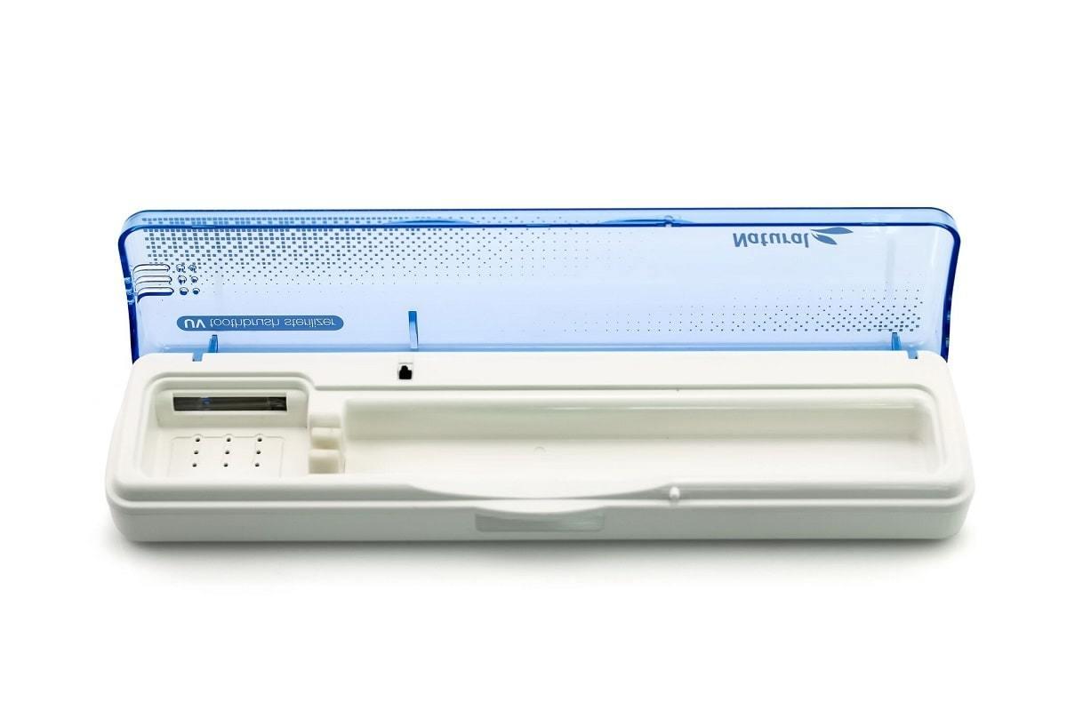 Стерилизатор для зубных щеток Natural голубой
