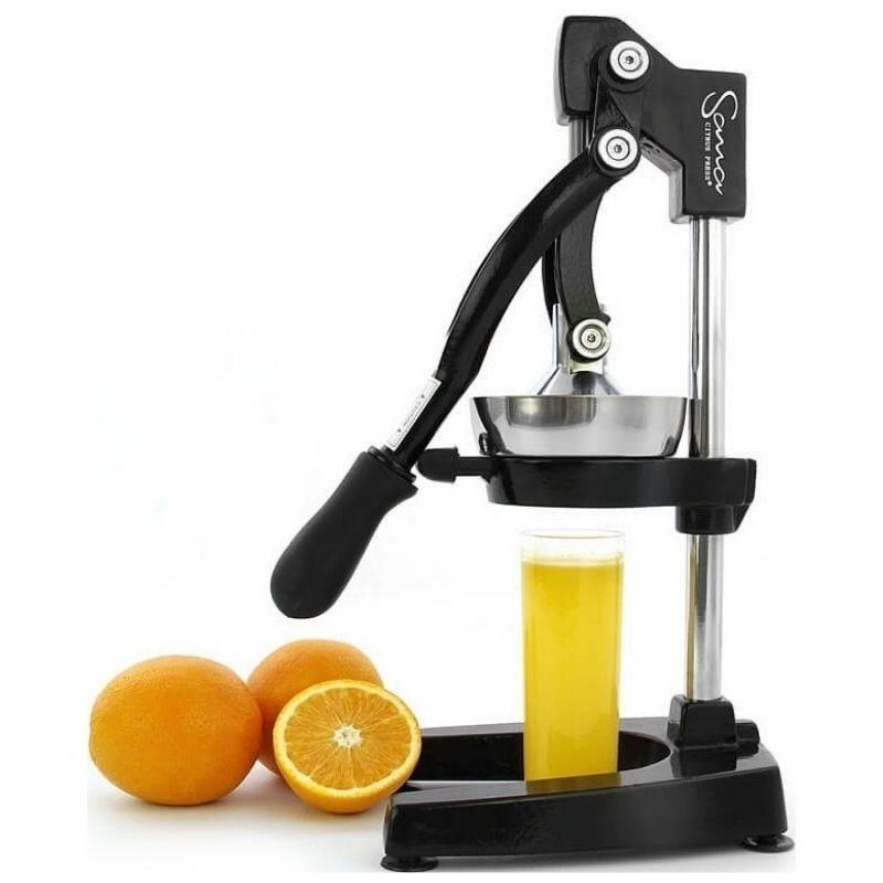 Прессовая соковыжималка Sana Citrus Press черная