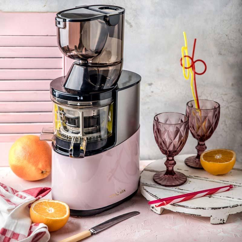 Соковыжималка King Mix GP-40S розовая пастель